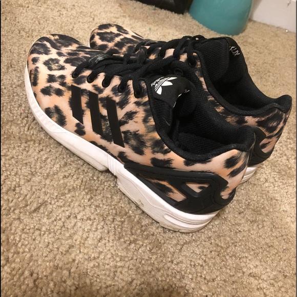 Adidas Tennis Shoes Cheetah Print